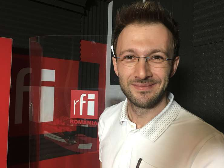 Liviu Arsene in studioul RFI