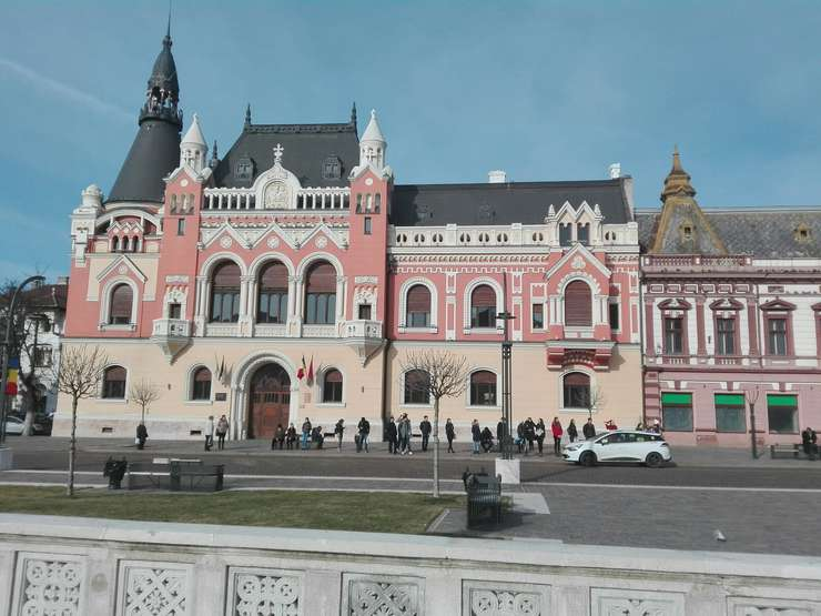 Palatul episcopal greco-catolic din Oradea (Foto: RFI/Cosmin Ruscior)