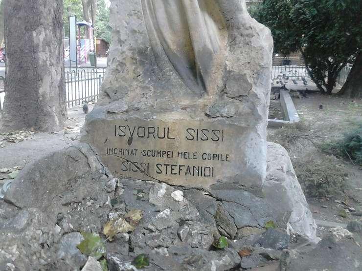 Izvorul Sissi Stefanidi din Parcul Cişmigiu (Foto: RFI/Cosmin Ruscior)