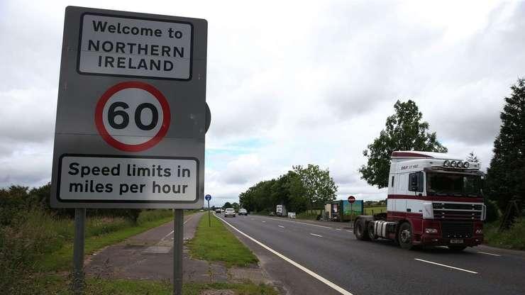 Frontiera Republica Irlanda - Irlanda de Nord
