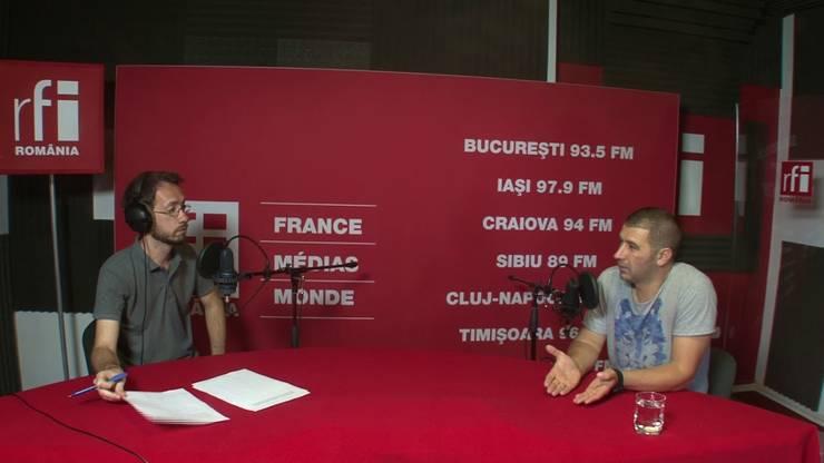 Gabriel Păun, în studioul RFI (arhivă)