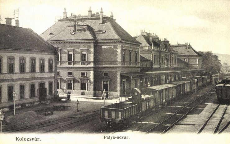 Gara CFR din Cluj Napoca