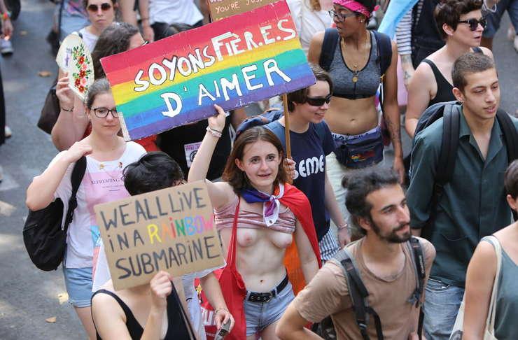 Gay Pride 2019 în Franţa