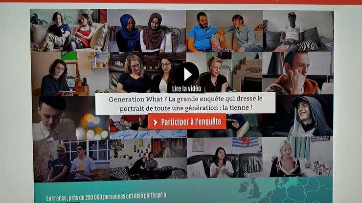 Imagine de pe situl generation-what.fr