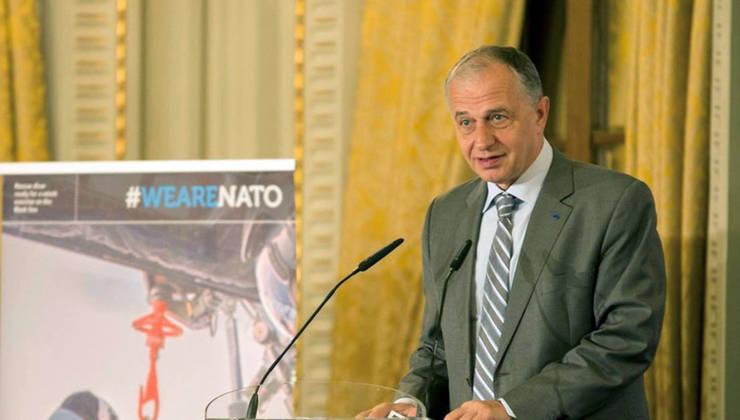 Mircea Geoanà, secretarul general delegat NATO