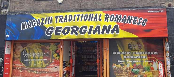Magazin românesc în Luton