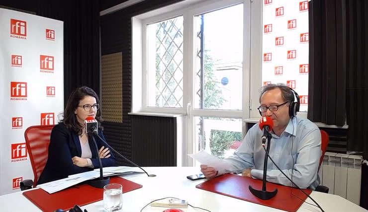 Georgiana Iancu și Constantin Rudniţchi la Business ON AIR