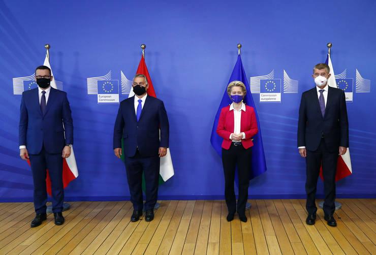 Polonia şi Ungaria au ajuns la un compromis cu Germania pentru a debloca bugetul multianual al  Uniunii Europene (Sursa: AP/Mediafax Foto)