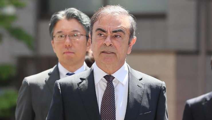Carlos Ghosn la Tokyo, 23 mai 2019