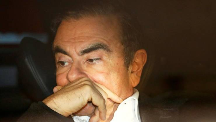 Carlos Ghosn, dupà eliberarea sa sub cautiune, în martie 2019