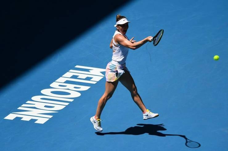 Simona Halep s-a calificat în sferturile de finală de la Australian Open