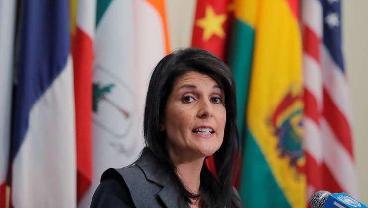 Nikki Haley, ambasadoare SUA pe lângà ONU