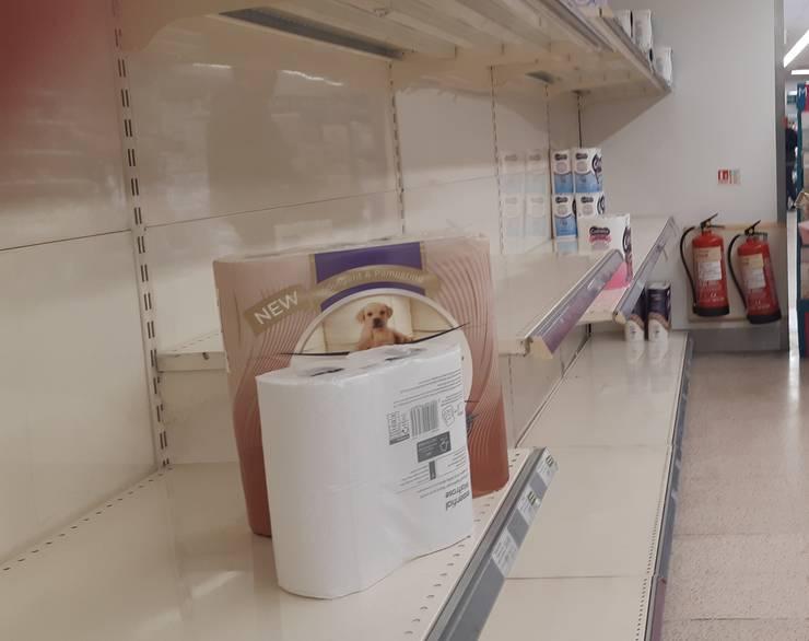 Supermarket în nordul Londrei