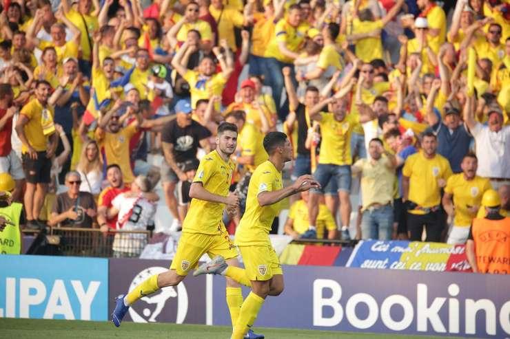 România, la un pas de semifinalele EURO 2019 U21(Sursa foto: Facebook/echipa națională)
