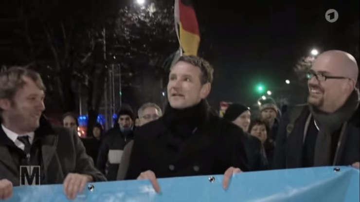 Hans-Thomas Tillschneider, ideologul partidului AfD din Germania