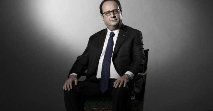 François Hollande, la Palatul Elysée pe 11 mai 2017