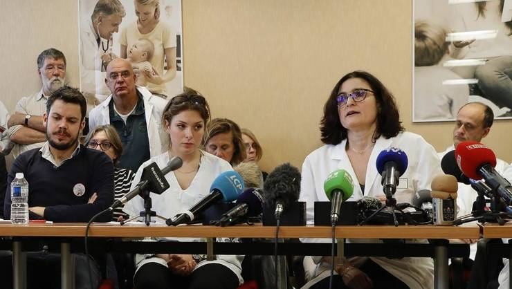 Conferinta de presà a medicilor din colectivul inter-spitale care amenintà cu demisia colectivà începând cu 14 ianuarie 2020