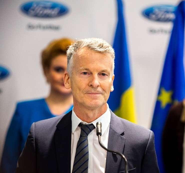 Ian Pearson, CEO-ul Ford România