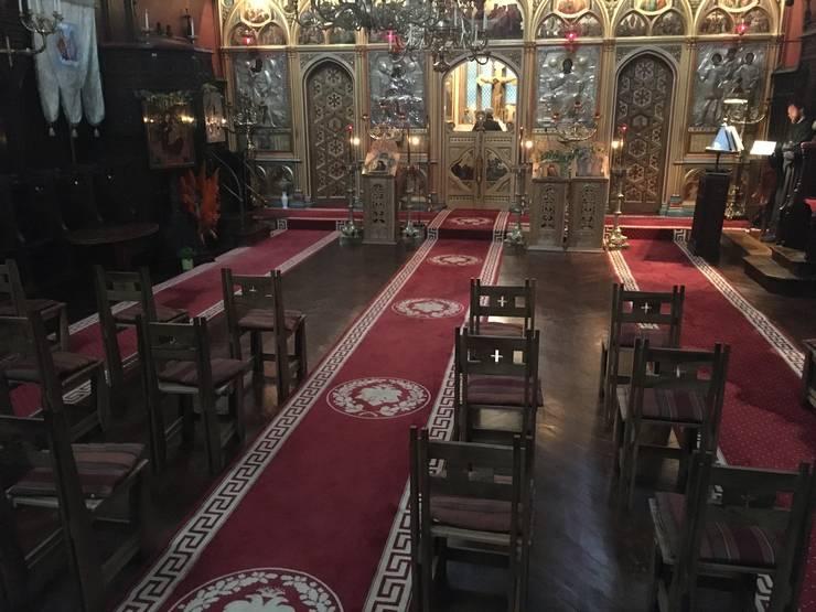 """Biserica Ortodoxă Română """"Sfinții Arhangheli Mihail, Gavriil și Rafail"""" din Paris"""