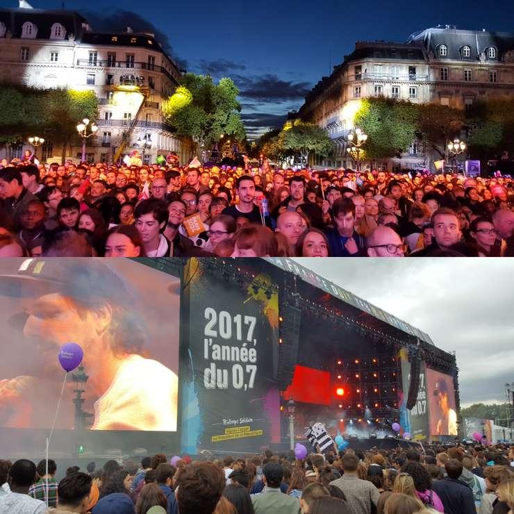 Parizienii serbeazà atribuirea JO din 2024 si solidaritatea cu tàrile în dezvoltare
