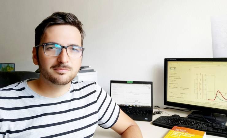 Mircea T. Sofonea este expert în epidemiologie şi în evoluţia bolilor infecţioase la Universitatea din Montpellier
