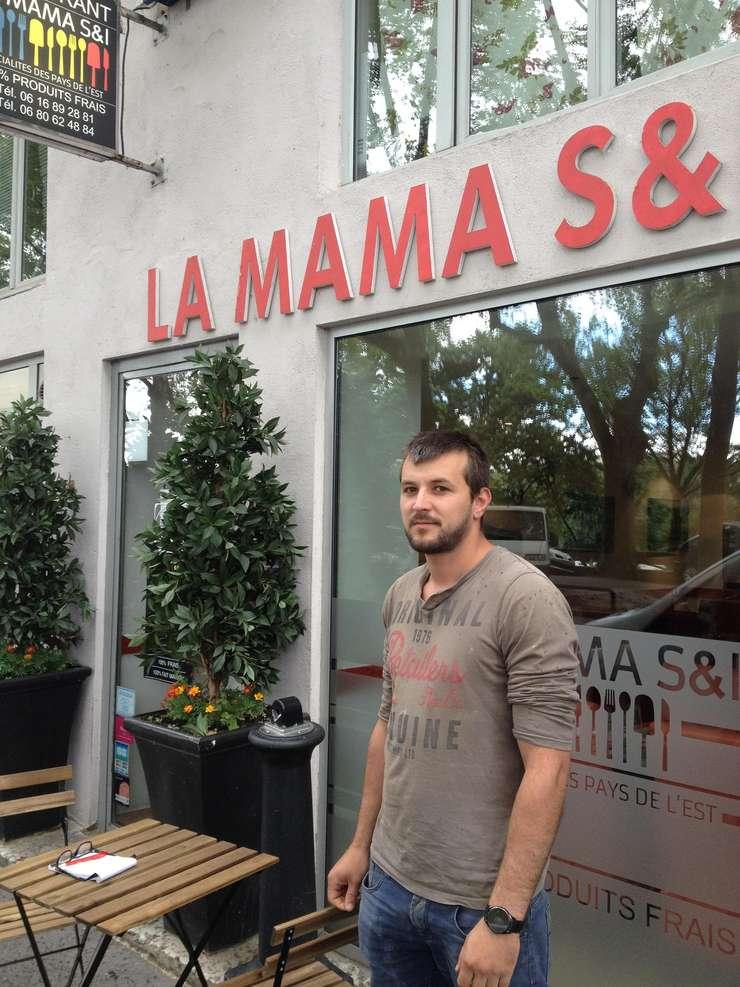 Iulian Nechita, patronul restaurantului românesc La Mama din Lyon
