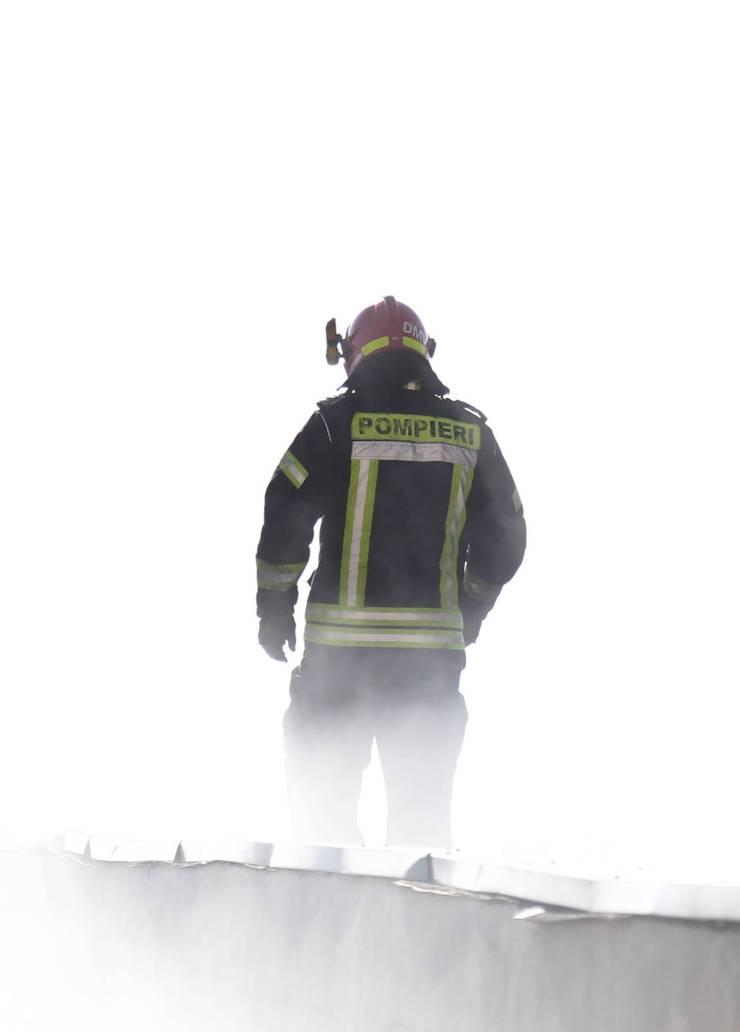 Incendiu lângă București, la Mogoșoaia (Sursa foto: Facebook/ISU București-Ilfov-ilustrație)
