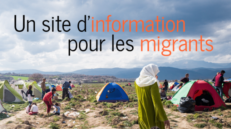 InfoMigrants.net va edita stiri în trei limbi: francezà, englezà si arabà