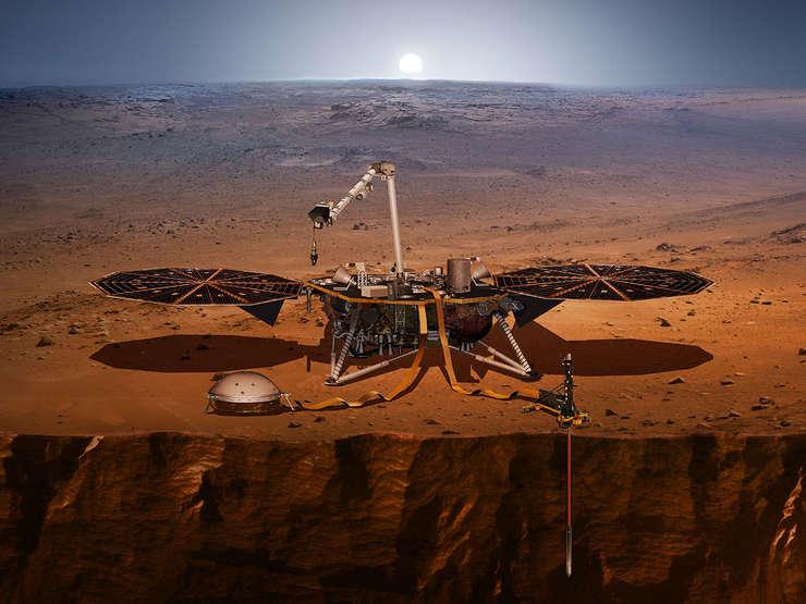 Sonda InSight, lansatà spre Marte
