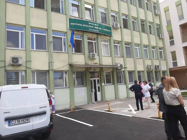 Institutul Oncolologic dr. Ion Chiricuță din Cluj-Napoca tratează 600 de pacienți pe zi