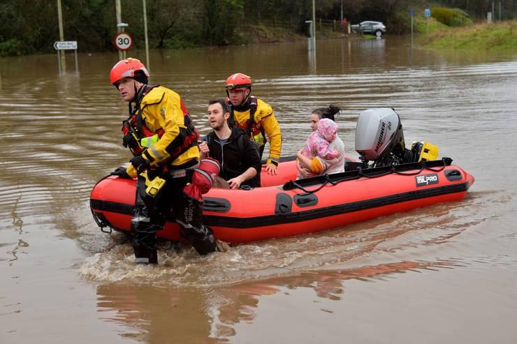 Inundații Țara Galilor
