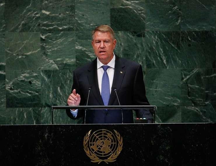 Klaus Iohannis a pledat, la New York, pentru acceptarea României ca membru nepermanent în Consiliul de Securitate al ONU