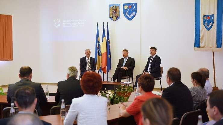 Klaus Iohannis in Tinutul Secuiesc: Autonomia pe criteriI entice nu este de dorit!