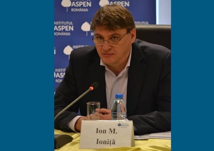 Ion M. Ioniță: PNL nu excelează la capitolul vectori de mesaj (Sursa foto: Facebook/Ion M. Ioniță)