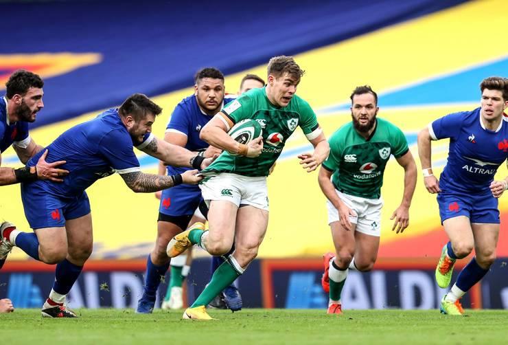 Irlanda 13 Franța 15