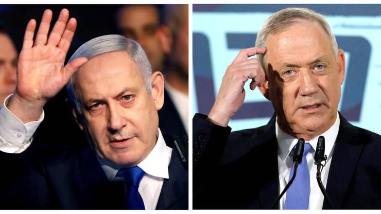 Care dintre Beniamin Netaniahu sau Benny Gantz va fi viitorul premier israelian?