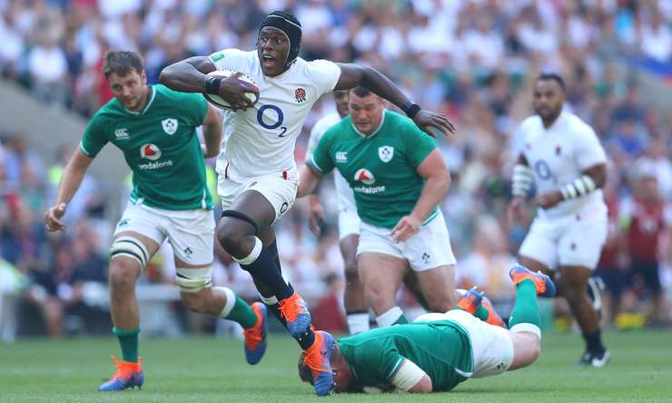 Anglia 57 Irlanda 15