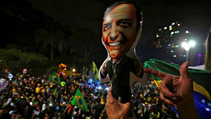 Explozii de bucurie la São Paulo dupa victoria lui Jair Bolsonaro
