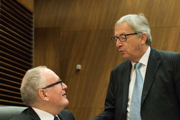 Frans Timmermans va lua parte la o dezbatere publică, la Muzeul Naţional de Artă