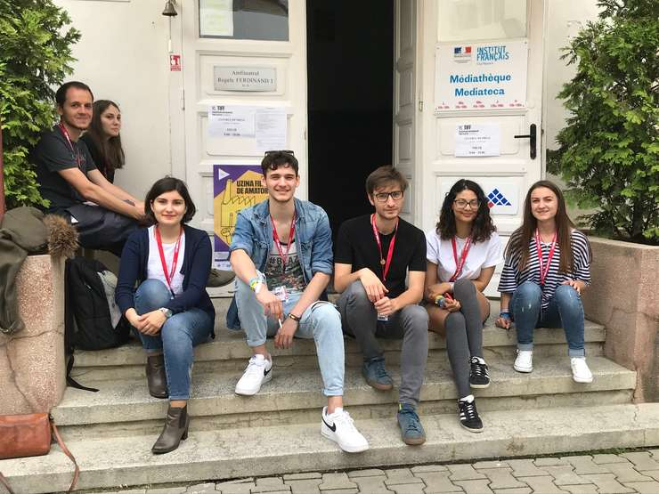 Șapte tineri au jurizat filme francofone la Festivalul Internațional de Film Transilvania. Premiul acordat de TV5 Monde, Institutul Francez și RFI România este, deja, o tradiție la TIFF.