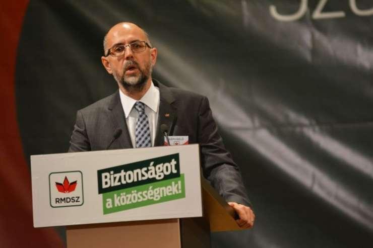 Preşedintele UDMR, Kelemen Hunor (Foto: www.udmr.ro/Banga Előd-Ernő)