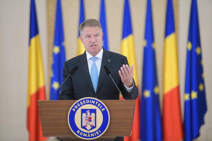 Președintele Klaus Iohannis critică Guvernul, după publicarea rapoartelor GRECO (Sursa foto: presidency.ro)
