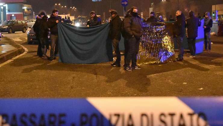 Anis Amri împuscat de politia italiana la Milano