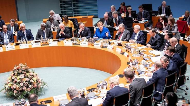Germania a mai găzduit, pe 19 ianuarie 2020, sub egida Organizaţiei Naţiunilor Unite, o conferinţă pe marginea Libiei.