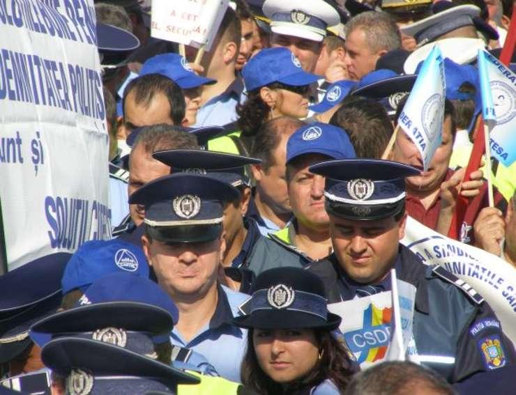 Poliţiştii ameninţă cu proteste (Sursa foto: site SNPPC)