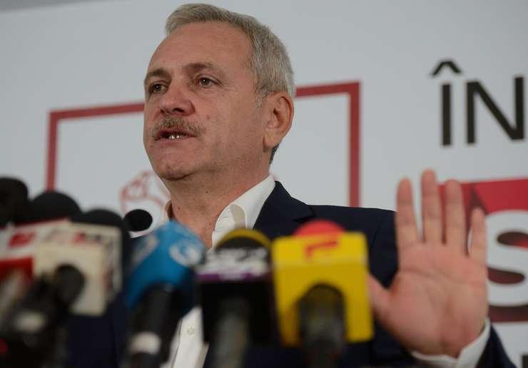 Liviu Dragnea susţine că violenţele de stradă au fost finanţate (Foto: AFP/Daniel Mihăilescu)