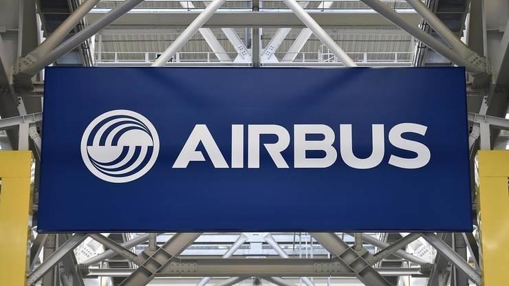 Logo-ul Airbus.