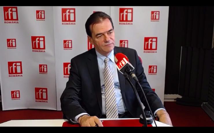Ludovic Orban critică ideea unei OUG pentru Codurile Penale (Foto: arhivă RFI-captură video)