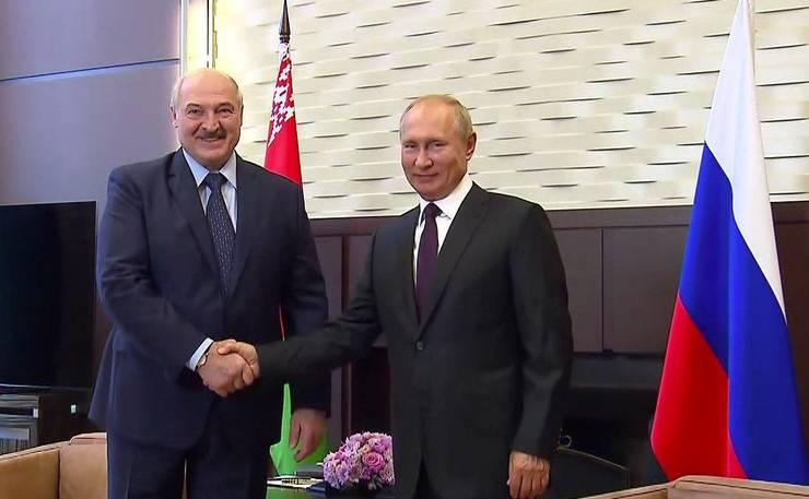 In plin scandal legat de arestarea lui Roman Protasevici, presedintele belarus, Alexandr Lukasenko  merge in Rusia unde se intalneste cu Vladimir Putin.