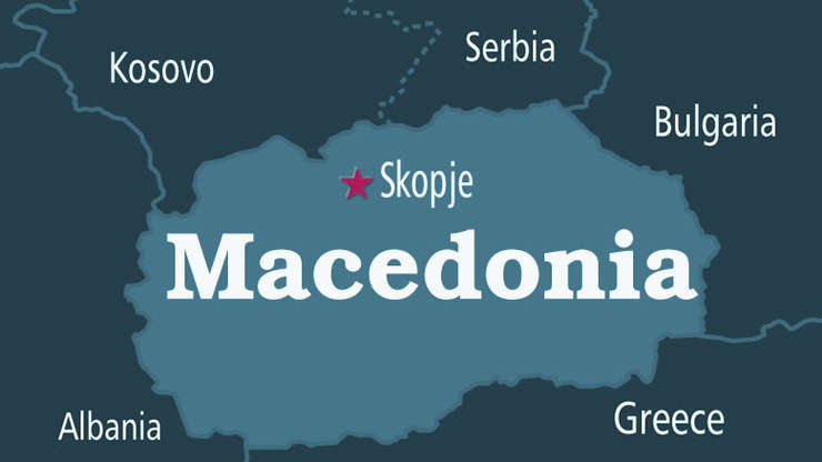 Harta Macedonia